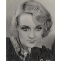 Carole Lombard gallery portrait by Wm. E. Thomas