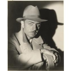 William Powell gallery portrait from The Greene Murder Case by Eugene Robert Richee