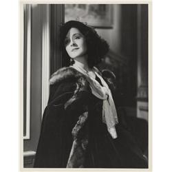 Norma Shearer oversize gallery portrait from The Barretts of Wimpole Street by George Hurrell