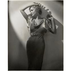 Gloria Stuart oversize gallery portrait from Sweepings & The Kiss Before the Mirror by Jack Freulich