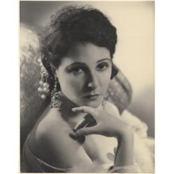 Norma Talmadge oversize gallery portrait by Melbourne Spurr