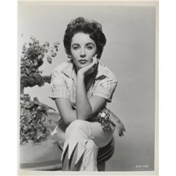 Elizabeth Taylor key book portraits from Giant by Bert Six
