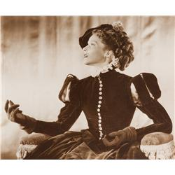 Katharine Hepburn mural portrait from Mary of Scotland for Dreams For Sale exhibit by Bachrach
