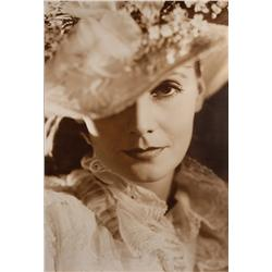 Greta Garbo mural portrait from Anna Karenina for Dreams For Sale exhibit by Clarence Sinclair Bull