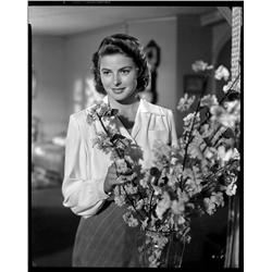 Ingrid Bergman camera negative from Casablanca by Scotty Welbourne