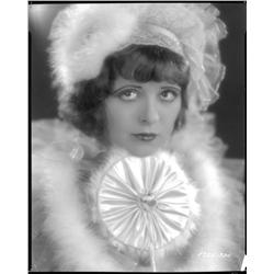 Clara Bow camera negative by Eugene Robert Richee