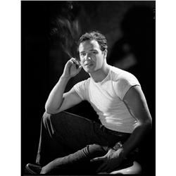 Marlon Brando camera negative from A Streetcar Named Desire by John Engstead