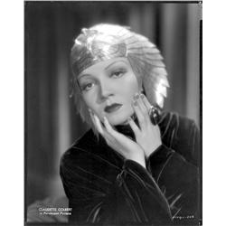 Claudette Colbert camera negative from Cleopatra by Eugene Robert Richee