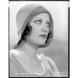 Joan Crawford camera negative from Our Blushing Brides by George Hurrell
