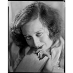 Joan Crawford camera negative  from Paid by George Hurrell