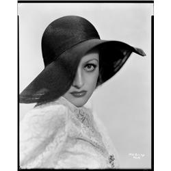 Joan Crawford camera negative from Grand Hotel by George Hurrell