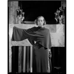 Joan Crawford camera negative from Today We Live by George Hurrell