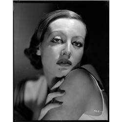 Joan Crawford camera negative by George Hurrell