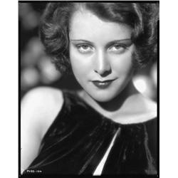 Frances Dee camera negative from The Playboy of Paris by Otto Dyar
