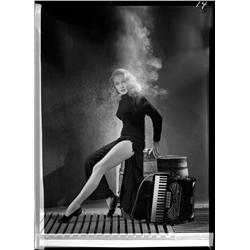 Marlene Dietrich camera negatives from Witness For the Prosecution by John Engstead