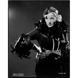 Marlene Dietrich camera negative from Shanghai Express by Eugene Robert Richee