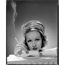 Marlene Dietrich camera negative from Destry Rides Again by Ray Jones