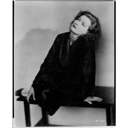 Greta Garbo negative from Love by Ruth Harriet Louise
