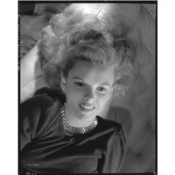 Judy Garland camera negative from Presenting Lily Mars by Eric Carpenter