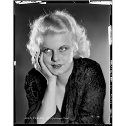 Jean Harlow camera negative from The Secret Six by Clarence Sinclair Bull