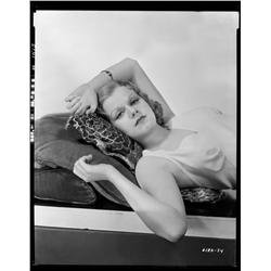 Jean Harlow camera negative from Red Headed Woman by Clarence Sinclair Bull