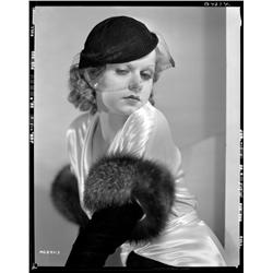 Jean Harlow camera negative from Red Dust by Clarence Sinclair Bull