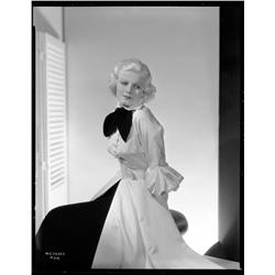 Jean Harlow camera negative from China Seas by Clarence Sinclair Bull
