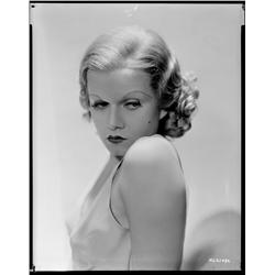 Jean Harlow camera negative from Red Headed Woman by George Hurrell