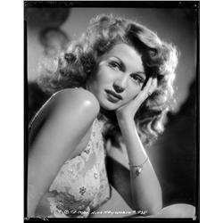 Rita Hayworth camera negative from Cover Girl  by Robert Coburn