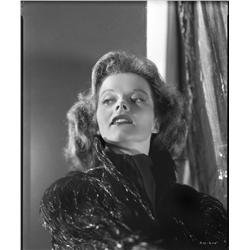 Katharine Hepburn camera negative from Stage Door by Ernest A. Bachrach