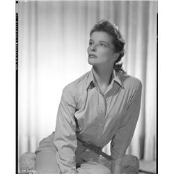 Katharine Hepburn camera negatives from Keeper of the Flame by Clarence Sinclair Bull