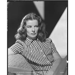 Katharine Hepburn camera negative from Keeper of the Flame by Clarence Sinclair Bull