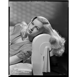 Veronica Lake camera negative from The Glass Key by Eugene Robert Richee