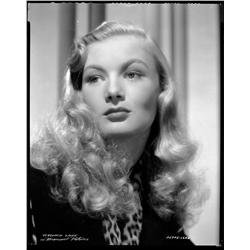 Veronica Lake camera negative from I Married a Witch by Eugene Robert Richee