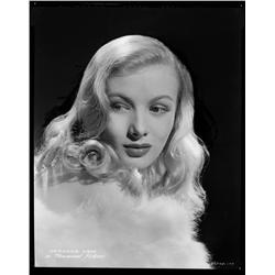Veronica Lake camera negative from I Wanted Wings by A.L. Whitey Schafer