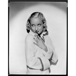 Carole Lombard camera negative from Sinners in the Sun by Otto Dyar