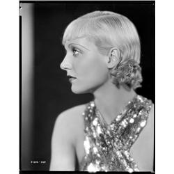 Carole Lombard camera negative from The Eagle and the Hawk by Otto Dyar
