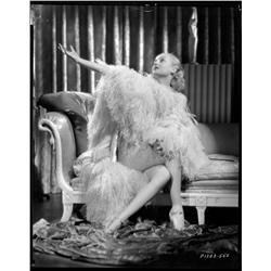Carole Lombard camera negative from White Woman by Eugene Robert Richee
