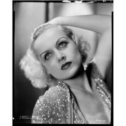 Carole Lombard camera negative by Eugene Robert Richee