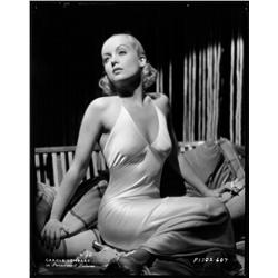 Carole Lombard camera negative from Twentieth Century by Eugene Robert Richee