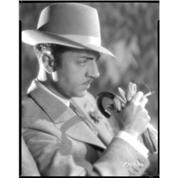 William Powell camera negatives from The  Runaway by Eugene Robert Richee
