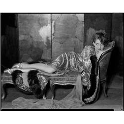 Norma Shearer camera negative from The Divorcee by George Hurrell