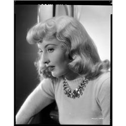 Barbara Stanwyck camera negative from Double Indemnity by Bud Fraker