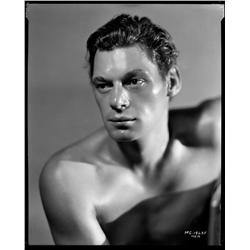 Johnny Weissmuller camera negative from Tarzan, the Ape Man by George Hurrell