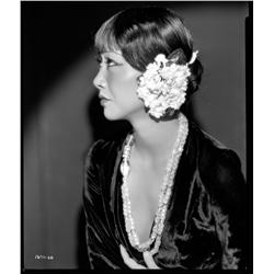 Anna May Wong camera negative from Daughter of the Dragon by Otto Dyar