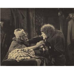 Pair of platinum prints of Lon Chaney Sr. from The Hunchback of Notre Dame