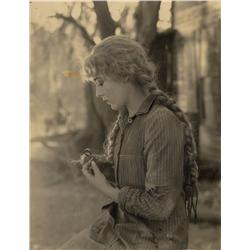 Collection of thirty-two photos from Sparrows of Mary Pickford, scenes, and set locations