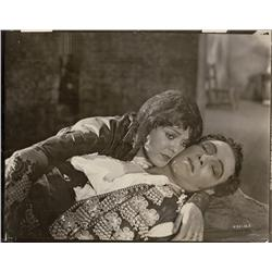 Collection of nine photos of Rudolph Valentino from Blood and Sand and The Young Rajah