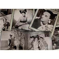 One of a kind vintage custom portfolio of 39 oversize photos by Fred Daniels from The Mikado