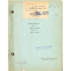 As You Desire Me original 1931 MGM file copy of play used as source for screenplay